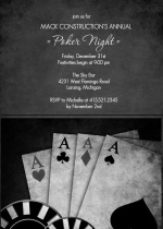 Annual Business Poker Night Invitation