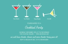 Martini Cocktail Party Invitation