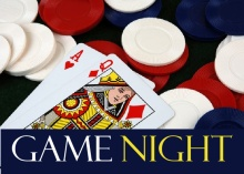 Poker Chips and Cards Poker Night Invitation