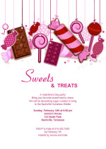 Sweet Treats Party Invitation