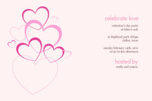Love Bubbles Valentine's Day Invitation