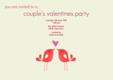 Soulmates Valentine's Party Invitation