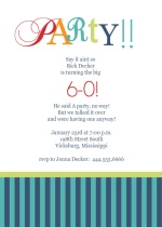 program for 60th birthday party | just b.CAUSE