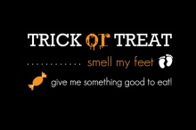 Trick or Treat Halloween Party Invite