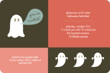 Little Ghosts Halloween Party Invite