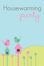 Birdhouse Housewarming Party Invitation