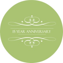 Elegant Green Wedding Anniversary Invitation