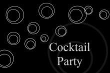 Cocktail Bubbles Party Invite