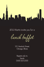 A Lunch Buffet Invitation