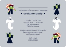 Costume Party Halloween Invite