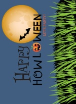 Full Moon Haunt Halloween Party Invitation