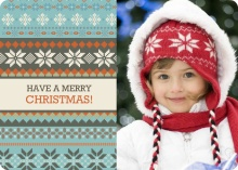 Favorite Holiday Sweater Christmas Photo Card