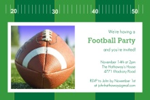 Yardline Football Party Invitation