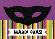 Black and Purple Theme: Mardi Gras