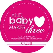 Baby Makes Three Pregnancy Announcement