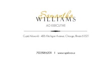 Sophisticate Gold and Black Business Card