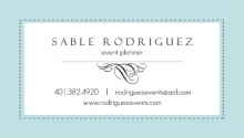 Blue Soft Impressions Business Card