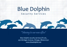 Blue Dolphin Moving Announcement
