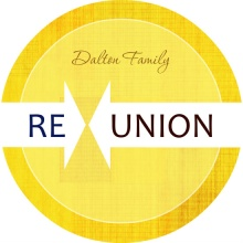 Yellow Linen Family Re-Union Invitation
