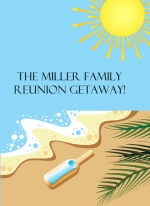 Oceanside Family Reunion Invitation