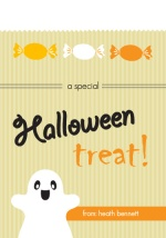 Bag of Treats Halloween Card