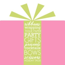 Wrapped Package Holiday Party Invitation