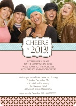 Girls Night Out New Years Party Invitation