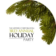 Noble Fir Holiday Party Invitation