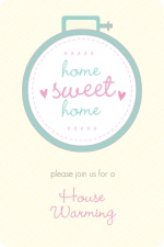 Home Sweet Home Housewarming Party Invitation