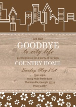 Country Housewarming Party Invite