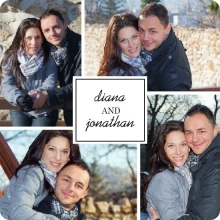 Simple Square Engagement Announcement