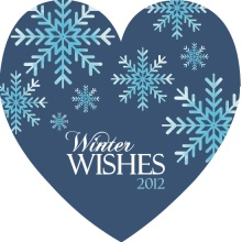Winter Wishes Business Holiday Card