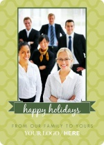 Banner Photo Business Holiday Card