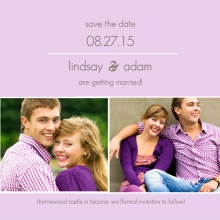 Elegant and Simple  Save the Date