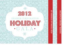 Retro Business Holiday Party Invitations