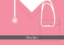 Pink Scrubs Nursing School  Thank You