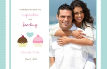 Cupcake Wedding  Save the Date