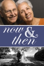 Now and Then Photo 60th Anniversary Party Invitation